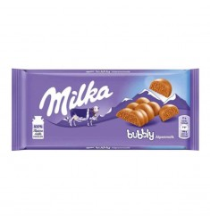 Milka Bubbly ao leite