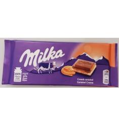 Milka creme caramel