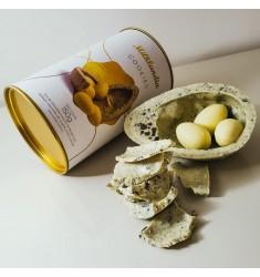 Promoção 2 Ovos de páscoa branco com cookies exclusivo Milklandia