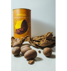 Promoção 2 Ovos de páscoa Nuts & Doce de Leite exclusivo Milklandia