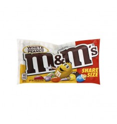 M&M´s White Peanut Chocolate