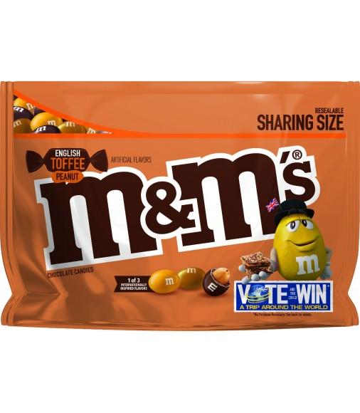 M&M´s English Toffe Peanut