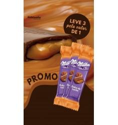 Promoção 3 Milka Dulce de Leche por: