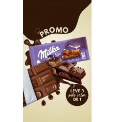 Promoção 3 Milka Triple Cocoa por: