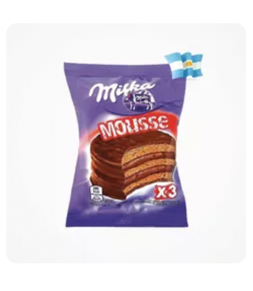 Alfajor Milka Mousse