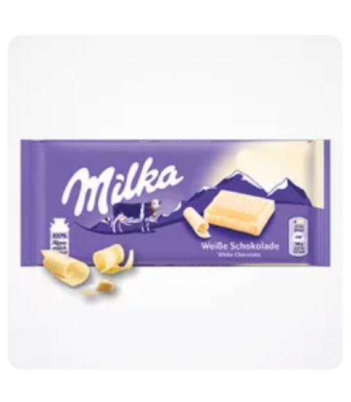 Milka Alpine White