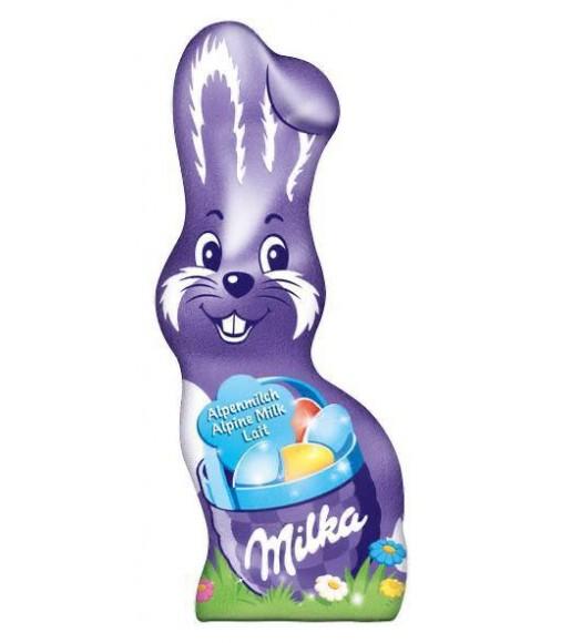 Promoção 2 Coelho de chocolate ao leite milka alpine por: