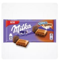 Milka Oreo Brownie